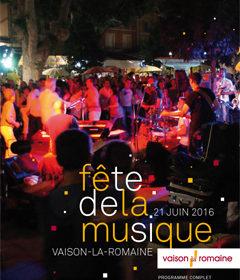 Les Tamaris Fête de la musique Vaison la Romaine 2016