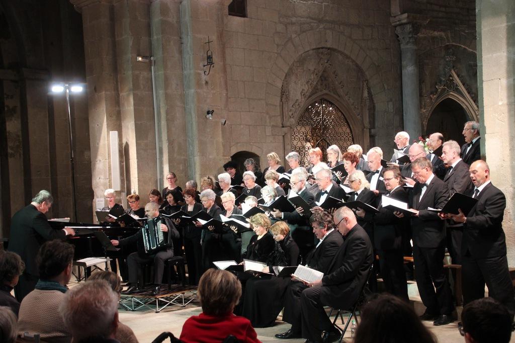 Les Tamaris Concert de Noël Choeur Européen de Provence